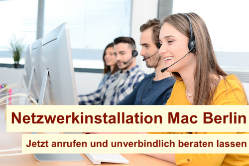 Netzwerkinstallation Mac Berlin